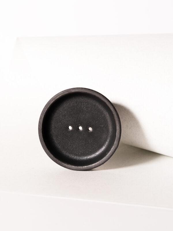 Seifenschale schwarz