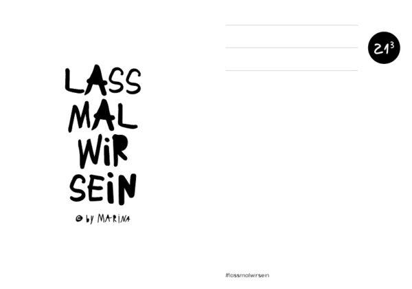 WDST Postkarte Lassmalwirsein