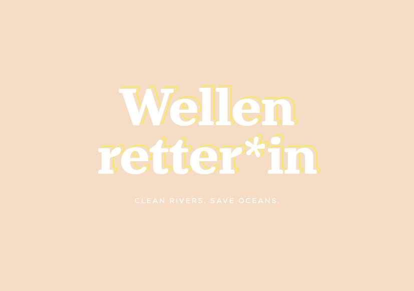 Wellenretter*in Logo